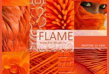 Flame Scarlet (Pantone)