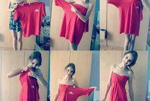 Hacer un vestido con una camiseta