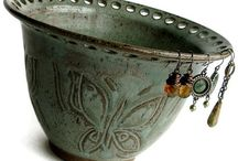 Pottery-for jewelry / by Rose Sarich