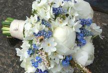 Bridal Bouquet Inspiration / Beautiful, natural, wild & rich