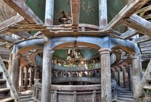 Beautiful Places and Abandoned spaces / Gorgeous locations from around the world, natural and manmade OR my weird obsession with abandoned dilapidated buildings.