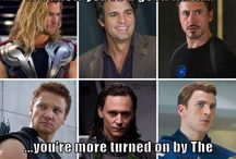 Superheros lolz