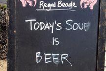 Humorous Pub Signs