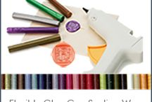 Sealing Waxes Modern & Traditional / Using Sealing Wax is a timeless art that gives notoriety and personalization to your correspondence. For centuries, noblemen and royalty have used family seals to send letters of importance back and forth.