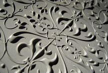 Concrete cladding, tiles, floors and walls - Parements, dalles, sols et murs / Concrete from floor to ceiling  -   Le béton du sol au plafond