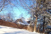 Apres la tombée de la neige....