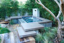 Trädgård Spanien