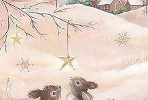 рисунки в д.с.(зима)