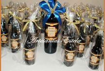 Botellitas De Vino Personalizadas Para Souvenir