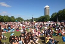 the #BigIf / Emma and Lucia attended the #BigIf rally at Hyde Park on 8 June 2013 in support of the Enough Food If... campaign.