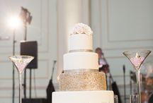Glam Wedding Cake Inspiration