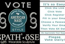Finalist Martha Stewart American Made 2014 / We were named a finalist and we need your vote! http://www.marthastewart.com/americanmade/nominee/88011/style/spathose