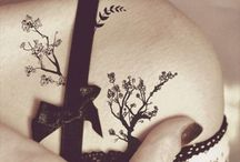 Cherry tree tatoo shouder