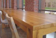 TerraMai Tables & Tops / TerraMai's line of standard products, combined with our custom capabilities, makes it easier than ever for customers to specify reclaimed wood table and countertops. Our handcrafted tops are available in a range of species, sizes, shapes and finishes