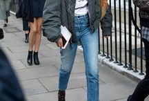Outfit straight leg jeans