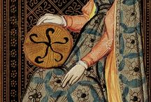 Dress 1400 - 1450 - Sources female / Female clothing in 15th c sources.