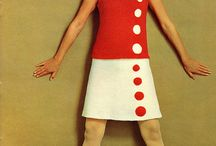 1960´s fashion inspiration / 60-talls mote