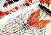 Upcycled books / Using old books in clever new ways