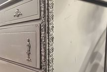 Vintage decorative moulds