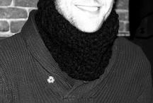 Cuellos lana para hombre