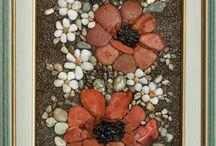 dekorácie z kamienkov