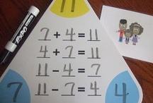 Idées pour ateliers maths