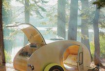bijzonder kamperen / Allerlei leuke, gekke, bijzondere slaapplaatsen op de camping.
