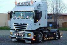 T IVECO TRUCKS - STRALIS / Trucks of the Italian brand IVECO,STRALIS range series.