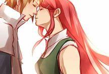 Minato and Kushina ♥♥♥