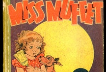 Little Miss Muffet - 20 year run comic strip illustrated by Fanny Y. Cory