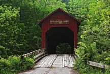 covered bridges / by Crabapple Cottage