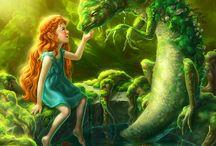 Fantasy fairy creatures