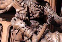 Harnische - Statuen und Grabmäler