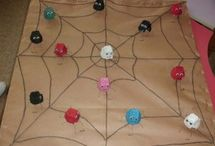 Spider bulletin board / This page has a lot of free Spider bulletin board for kids,parents and preschool teachers.