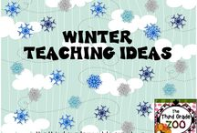 Winter Teaching Ideas / Winter themed ideas and resources for elementary classrooms.