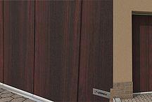 Garážové brány PRAKTIK posuné do boku LOMAX / Výroba, predaj a montáž garážovych brán LOMAX