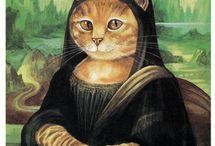 Obras gatunas / Los gatos como protagonistas de las obra de arte más importantes de la historia.