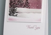 Christmas card inspiration / Things to try