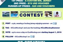 Summer Contest 2016 / Vote for your favorite photo at www.coolhockey.com/summercontest  Visit- https://www.coolhockey.com/p74/rules/pages.html for more details