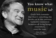 Words that Inspire Us! / Mostly about music!!