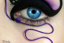 Eye shadow cool designs