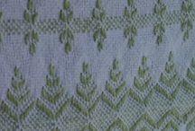 Huck or Swedish Weaving