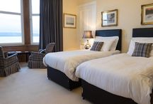 Twin Rooms / We have four twin rooms at The Cedars, all with extremely comfortable beds and en-suite shower rooms.