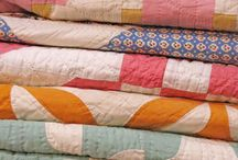 Piles de Quilts/Stacks of Quilts