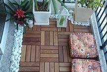 balkon: vloer