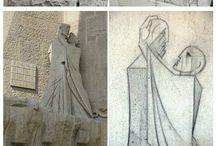 Gaudi sketches