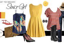 Style Board - Senior Girl