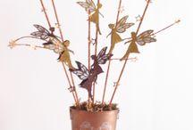 Centro mesa  / creado con plantillas Estarfácil de recete hada