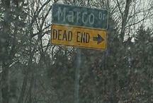 Marco a metà