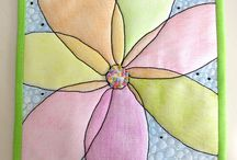 Quilting with crayons